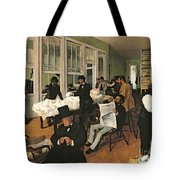 The Cotton Exchange Tote Bag