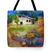 The Country Barn Tote Bag