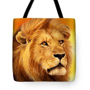The Courageous Cecil - African Lion Tote Bag