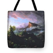 The Course Of Empire - The Savage State Tote Bag by Thomas Cole