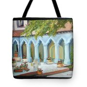The Court Yard Tote Bag