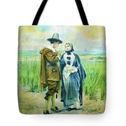 The Courtship Of Miles Standish Tote Bag