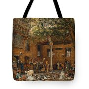 The Courtyard Of The Coptic  Tote Bag