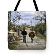The Cow Herder Tote Bag