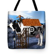 The Cow House Tote Bag