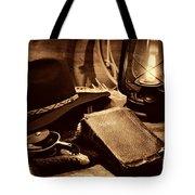 The Cowboy Bible Tote Bag