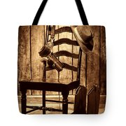 The Cowboy Chair Tote Bag