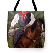 The Cowboy Tote Bag