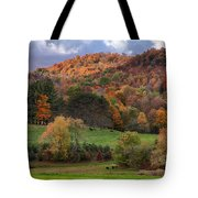 The Cows Are In The Dell  Tote Bag