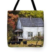 The Cows Came Home Tote Bag