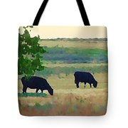 The Cows Next Door Tote Bag