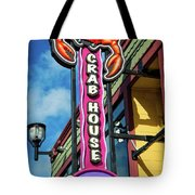The Crab House Seafood Grill Tote Bag