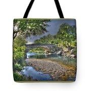 The Crabb Creek Bridge Tote Bag