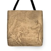 The Creation Of Eve  Tote Bag