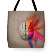 The Creative Brain Tote Bag