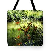 The Creek At The Old Mill Tote Bag