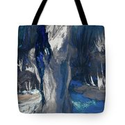 The Creekside Bath Of Alice In Royal Blue Tote Bag