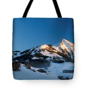 The Crested Butte Tote Bag by Jerry McElroy