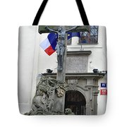 The Cross And Flags Tote Bag