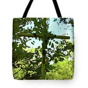The Cross In Nature Tote Bag