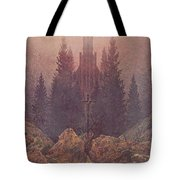 The Cross In The Mountains 1812  By Caspar David Friedrich 1774-1840 Tote Bag