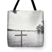 The Cross On The Water Tote Bag