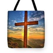 The Cross The Choice Pretty Place Chapel Greenville South Carolina Art Tote Bag
