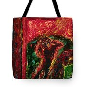 The Cross, The World And Fire - Bgcwf Tote Bag
