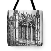The Crossing Tower Tote Bag