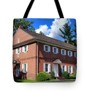 The Crosswicks Meeting House In Chesterfield  Tote Bag