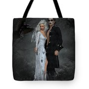 The Crows Wedding Tote Bag