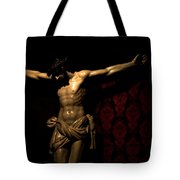 The Crucified Tote Bag
