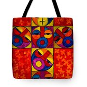 The Crucifix Tote Bag