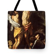 The Crucifixion Of Saint Andrew Tote Bag