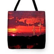 The Crucifixtion Tote Bag