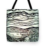 The Cry Tote Bag