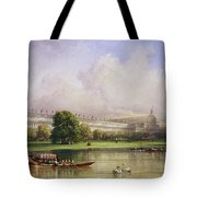 The Crystal Palace Seen From The Serpentine Tote Bag