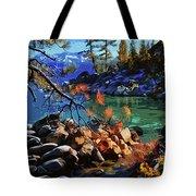 The Crystal Waters Of Lake Tahoe Tote Bag
