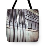 The Cta Train Tote Bag