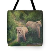 The Cubs Of Katmai Tote Bag