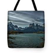 The Cuernos And Lake Pehoe #3 - Chile Tote Bag