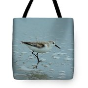 The Curious Little Sanderling 2 Tote Bag