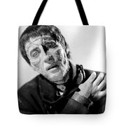 The Curse Of Frankenstein Christopher Lee 1957 Tote Bag