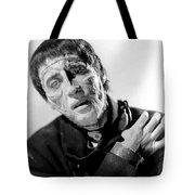 The Curse Of Frankenstein Christopher Lee 1957 Tote Bag