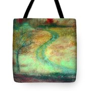 The Curve In The Road Tote Bag