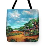 The Cycle Of Life Tote Bag