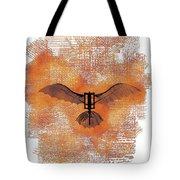 The Da Vinci Flying Machine Tote Bag