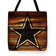 The Dallas Cowboys 3a Tote Bag