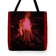 The Dance Of Fire Tote Bag