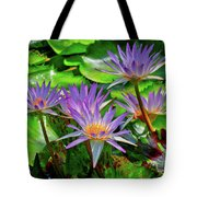 The Dance Of The Lillies Tote Bag